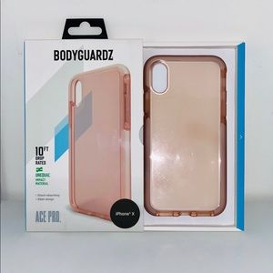 Accessories - BODYGUARDZ iPhone X phone case 📱